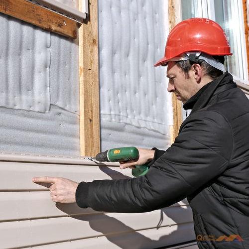 installing new siding