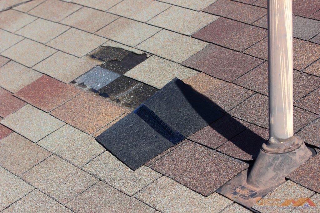 Roof Wind Damage Repair